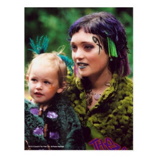 Trudy The Tribe Postcard