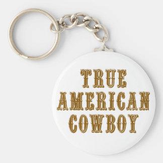 True American Cowboy Key Chains