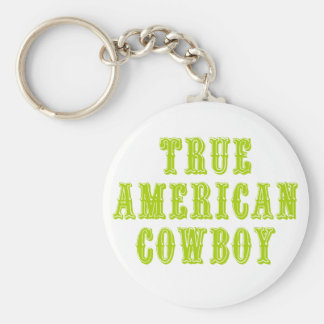 True American Cowboy Keychain