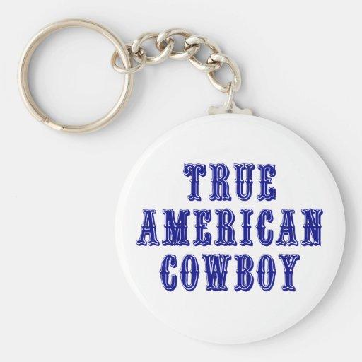 True American Cowboy Key Chain