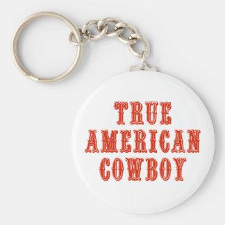 True American Cowboy Keychains