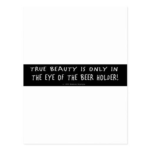 TRUE BEAUTY POST CARD
