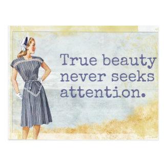 True Beauty - Postcard