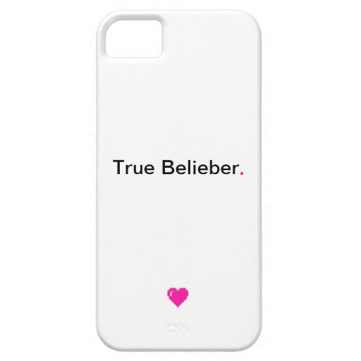 True Belieber iPhone Cover iPhone 5/5S Cover