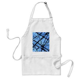 TRUE BLUE (an abstract art design) ~ Apron