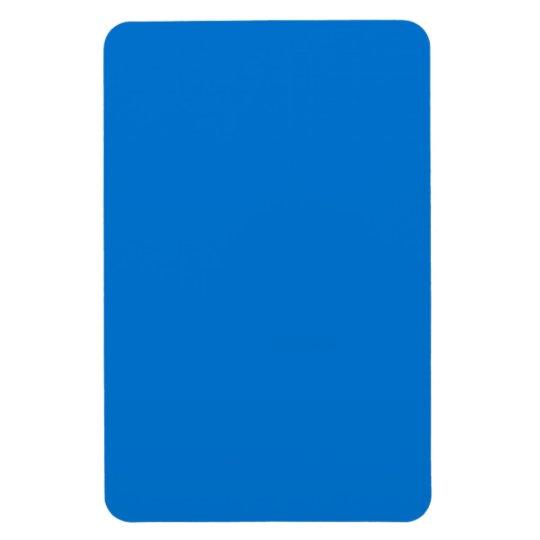 True Blue Bold Complementary Colour Rectangular Photo Magnet