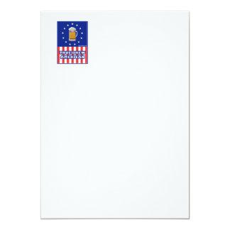True Brew American 5x7 Paper Invitation Card