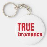True Bromance (Red) Keychain