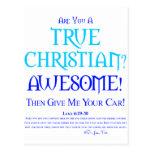 True Christian? Postcards