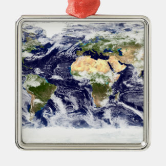 True-color image of the entire Earth Christmas Ornament