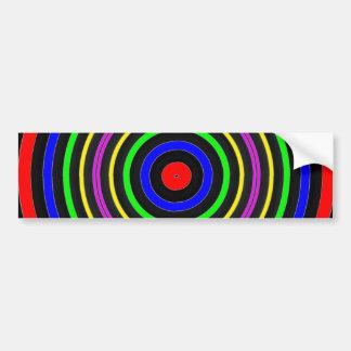 TRUE Color Meditation Mandala Evolution Revolution Bumper Sticker