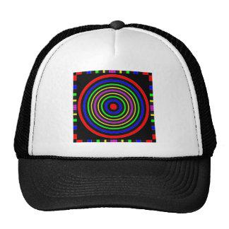 TRUE Color Meditation Mandala Evolution Revolution Trucker Hat