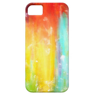 True Colors Abstract Art Barely There iPhone 5 Case