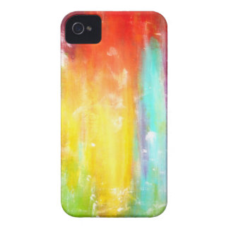 True Colors Abstract Art iPhone 4 Cover