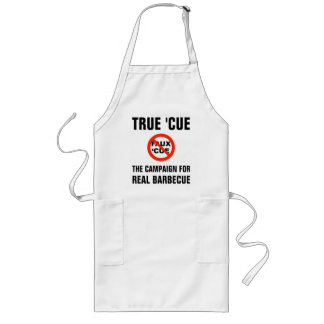 True 'Cue and XFQ apron