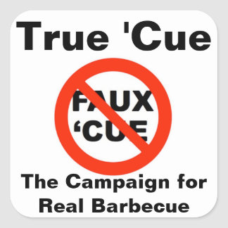 True 'Cue/CRBBQ Stickers