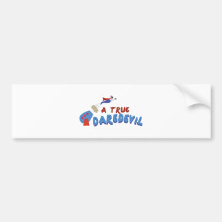 True Daredevil Bumper Sticker