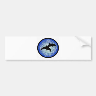 TRUE DOLPHIN DREAMS BUMPER STICKER