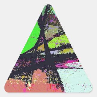 True Escape Triangle Sticker