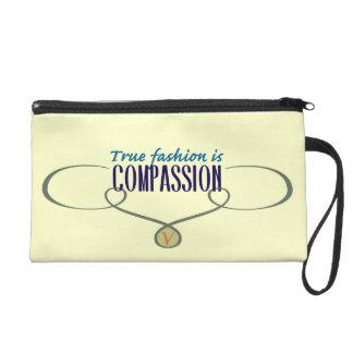 True Fashion is Compassion Wristlet