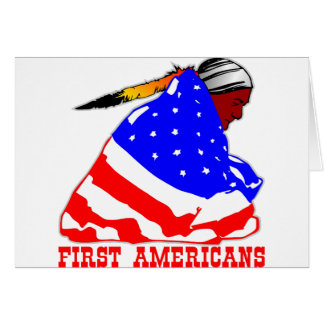 True First Americans Greeting Card