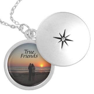 True Friends Customizable Locket  Necklace