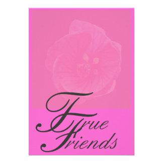 True Friends Greeting Card Announcement