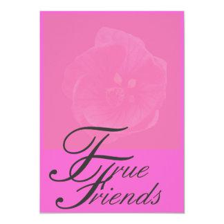 True Friends Greeting Card 13 Cm X 18 Cm Invitation Card