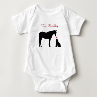 True Friendship Baby Bodysuit