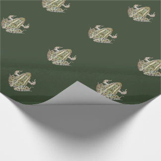 True Frog Wrapping Paper
