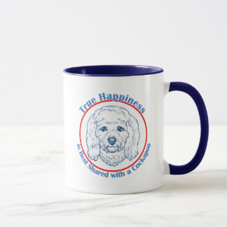 True Happiness with a Cockapoo Mug