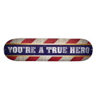 True Hero 18.1 Cm Old School Skateboard Deck