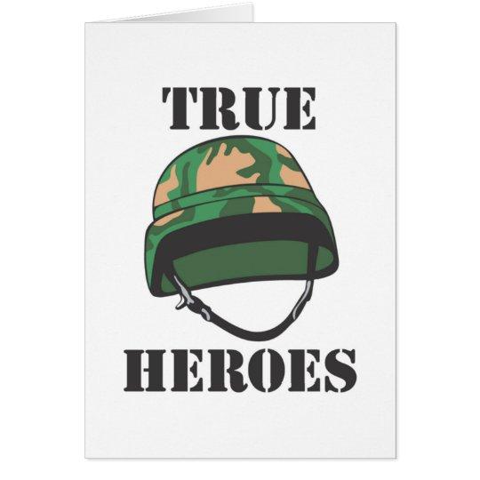 True Heroes Greeting Cards