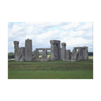 True Inspiration Stonehenge Stretched Canvas Prints