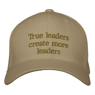 True Leaders Hst Embroidered Baseball Caps