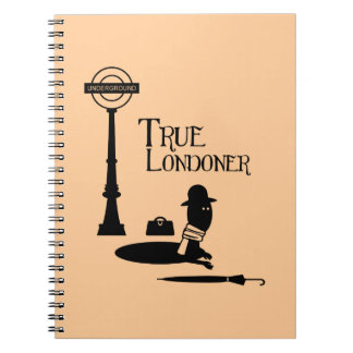 True Londoner Spiral Notebook