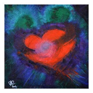 TRUE LOVE Art Print Heart Gift Wall Decor Abstract Photograph