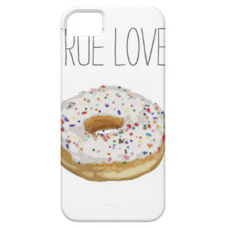 True Love Artsy Cutout Iced Ring Doughnut Barely There iPhone 5 Case