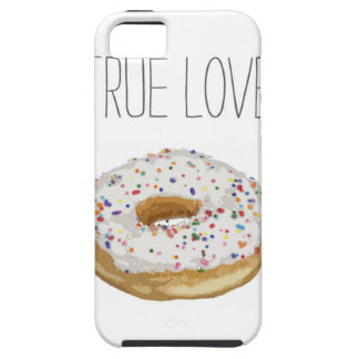 True Love Artsy Cutout Iced Ring Doughnut iPhone 5 Case