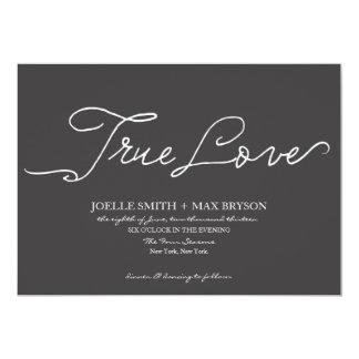 True Love Collection | Wedding Invitation
