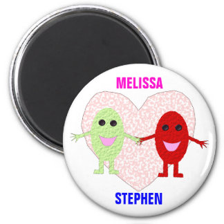 True Love Couples Customizable Magnet