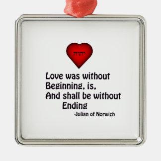 True Love Christmas Ornament