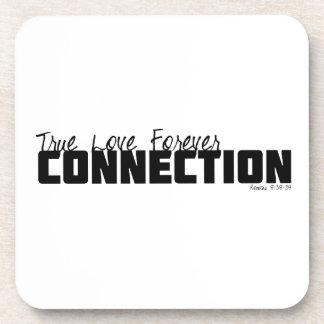 True Love Forever Beverage Coaster