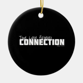 True Love Forever Christmas Ornaments