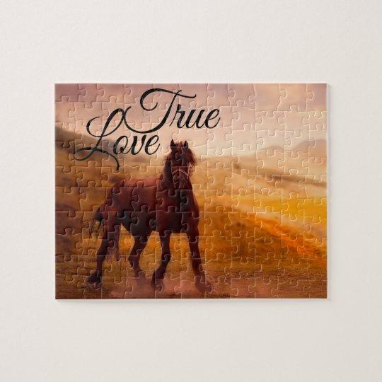 True Love Horse Jigsaw Puzzle