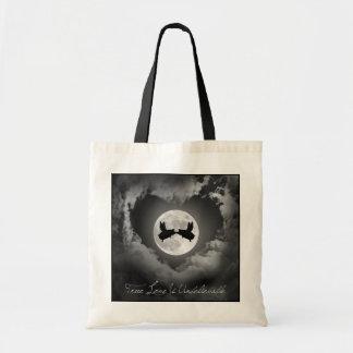 True Love Is Unbelievable-Flying Pigs Kissing Tote Bag