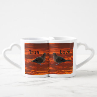 True Love Mourning Doves Coffee Mug Set