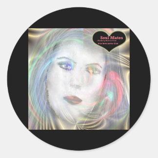 """""""True Love Never Dies""""* Classic Round Sticker"""