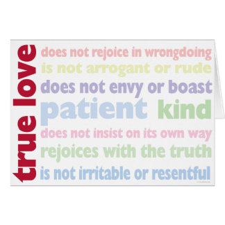 True Love Note Card