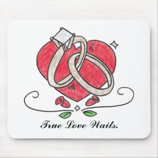 True Love Waits Mousepad